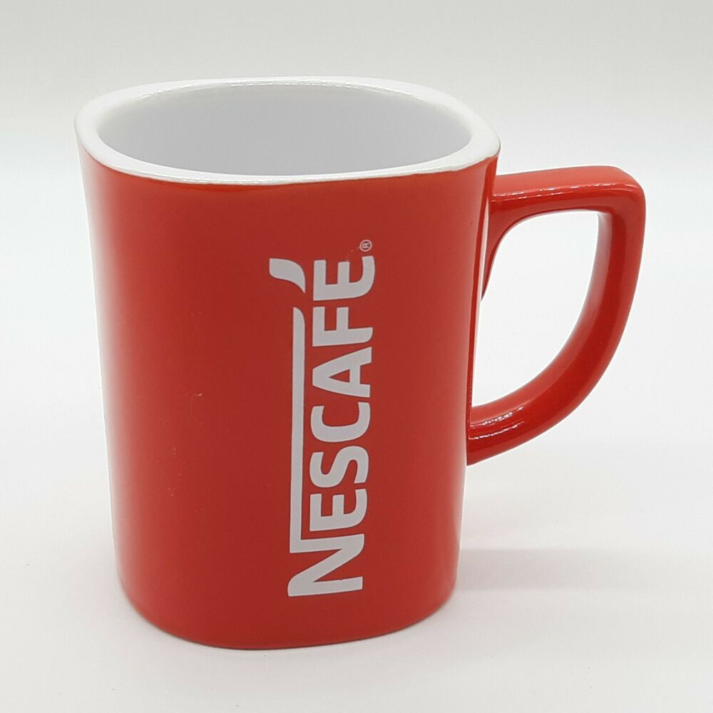 Details About Nestle Nescafe Red Square Coffee Cup Mug 12 Ounce In 2020 Nescafe Birthday Coffee Mom Coffee