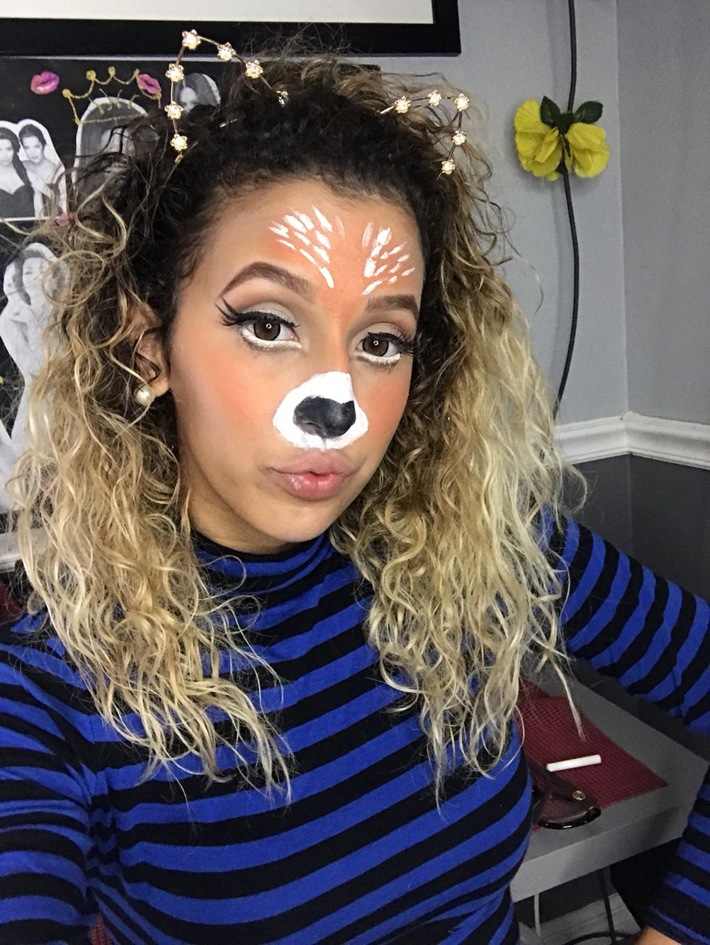 Deer Snapchat Filter (With images) Halloween makeup
