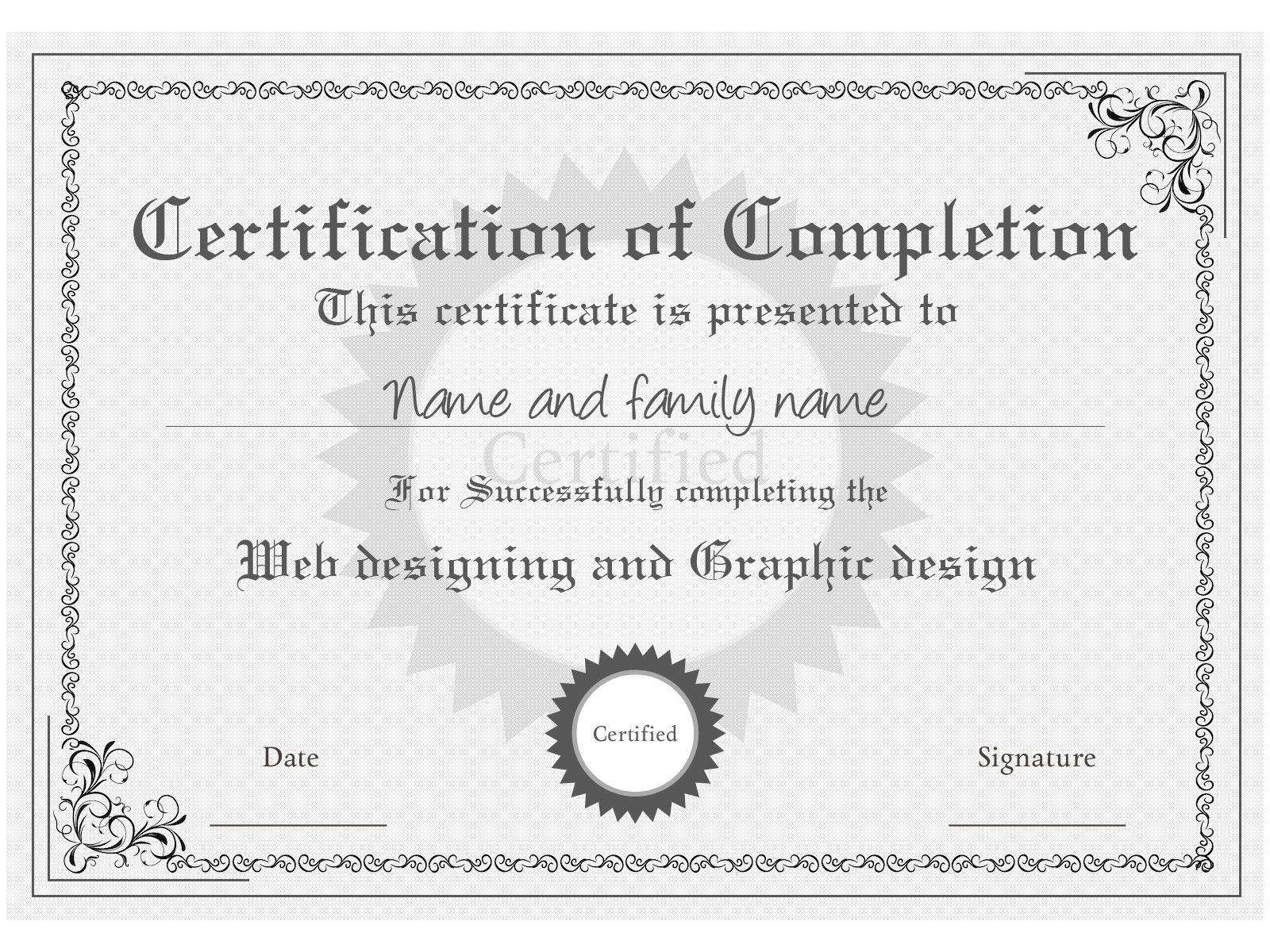 certificate templates おしゃれまとめの人気アイデア pinterest