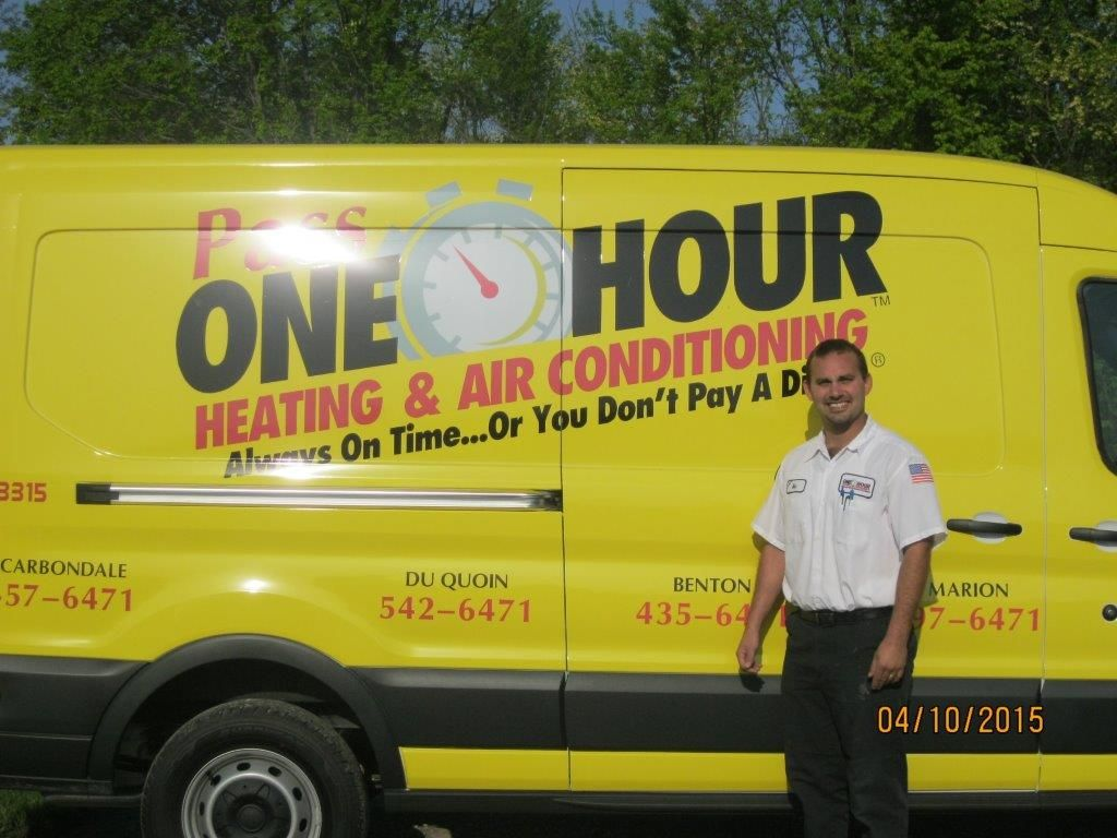 Meet Ben Ladley A Technician At Pass One Hour Heating Air
