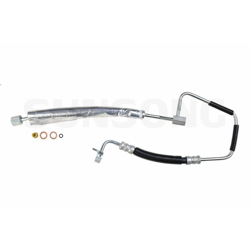 Power Steering Pressure Line Hose Assembly-Pressure Line Assembly fits Camry