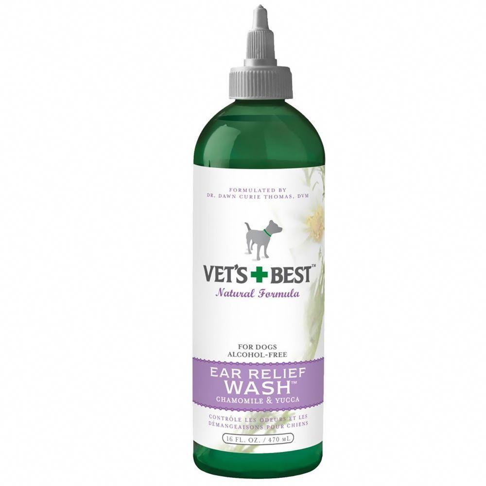Veterinarian's Best Ear Relief Wash (16 oz) Entirelypets