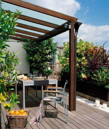 terrazas agradables terraza Pinterest Terrazas, Deco y Jardín - terrazas en madera
