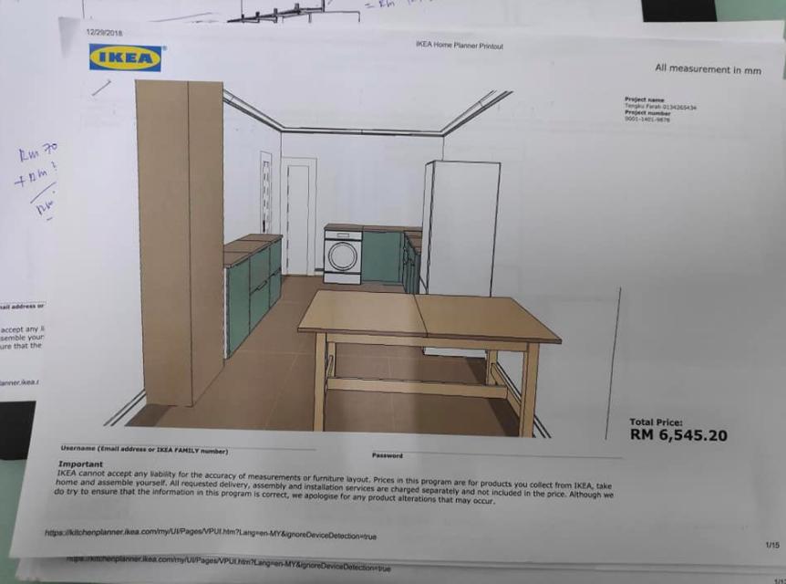 Tips Tempah Kabinet Dapur Ikea Ikea Dapur Tips