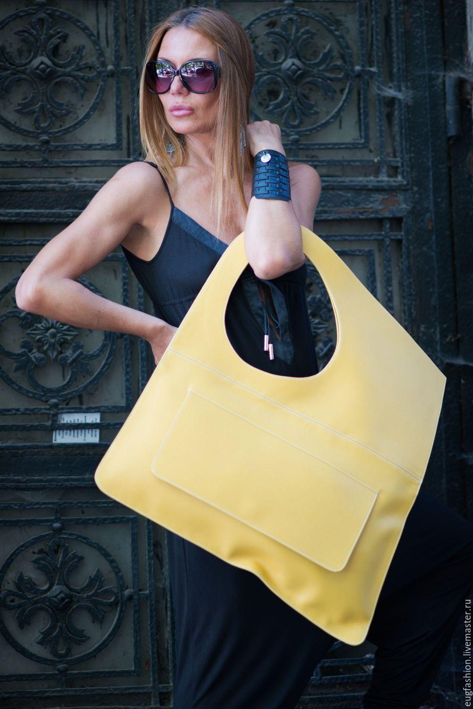 Really BIG bag (leather), handmade