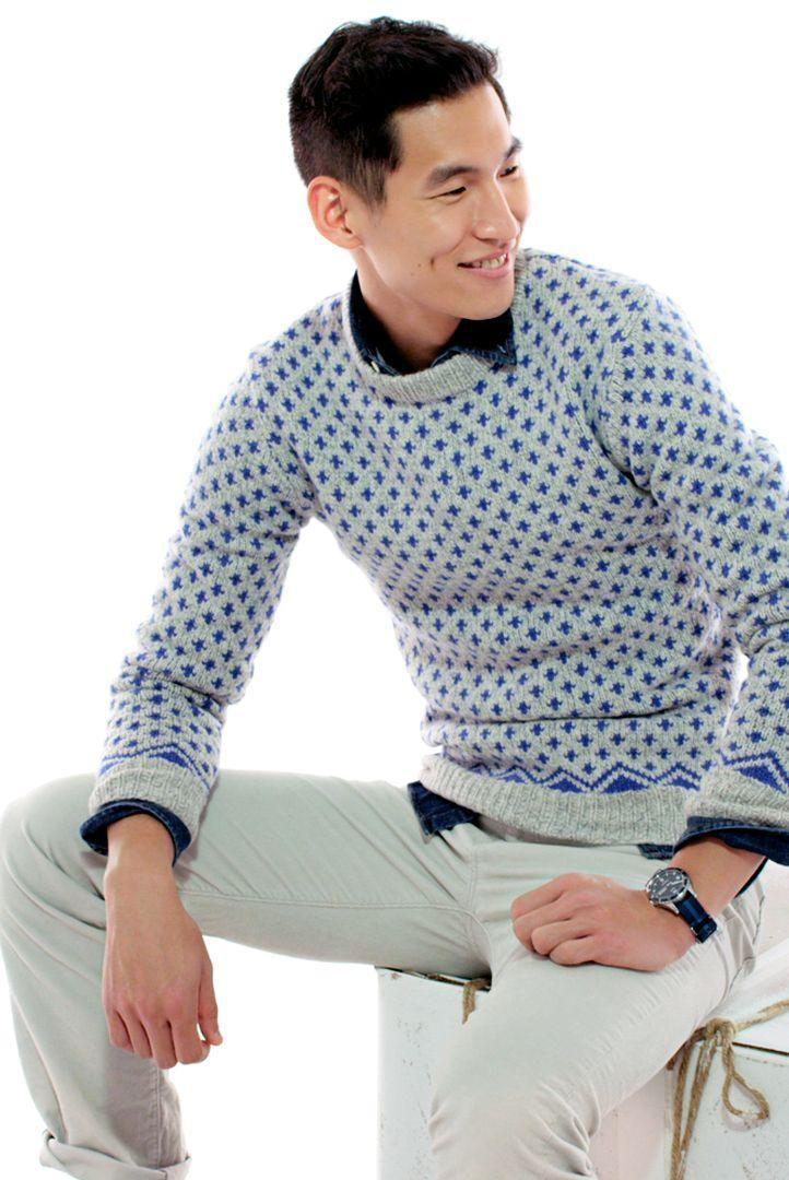 J.Crew Erskine Fair Isle sweater. Je sais que c'est un vêtement ...
