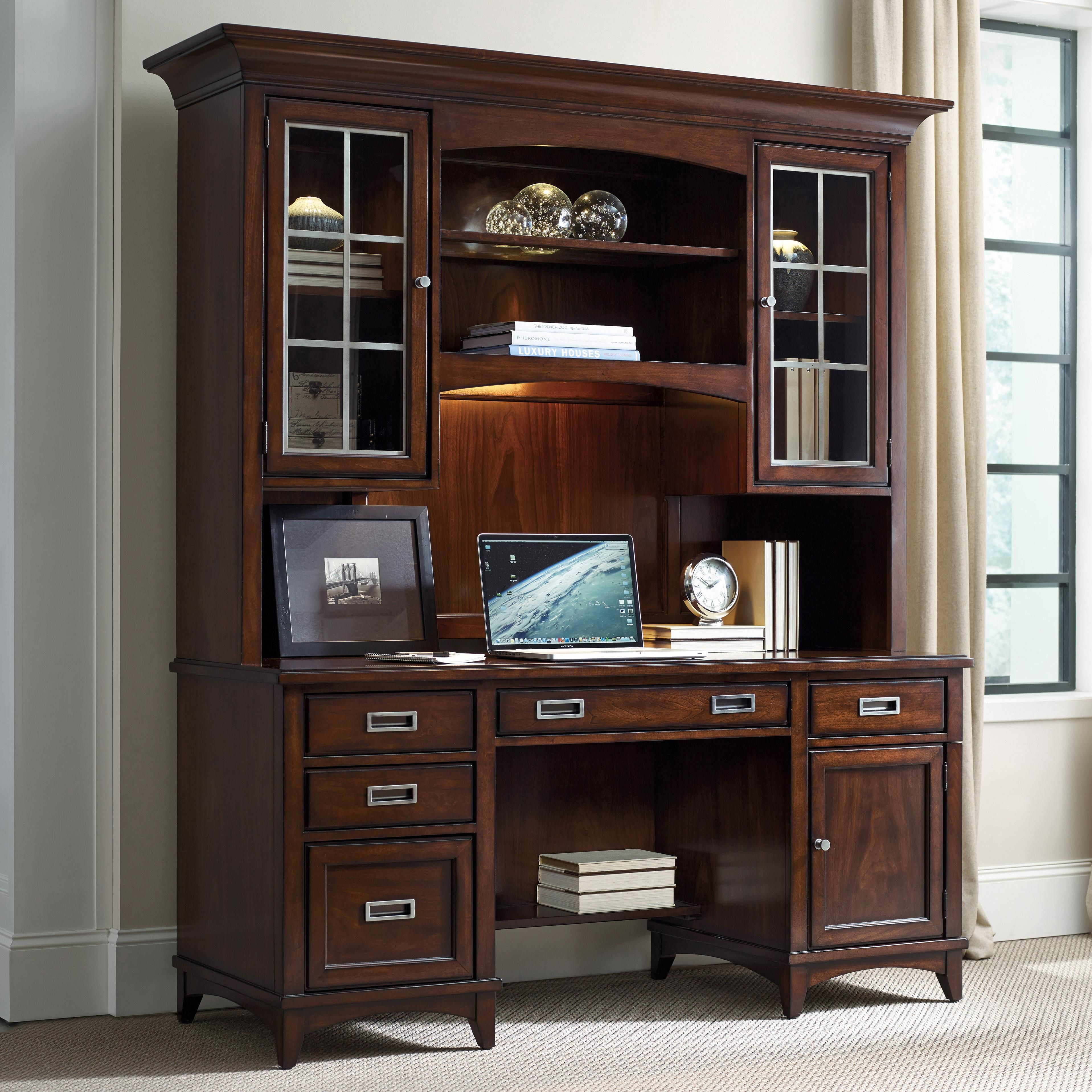 Shop For Hooker Furniture Latitude Computer Credenza/Desk Hutch, And Other  Home Office Cabinets Furniture. The Luxurious Latitude Collection Is  Crafted ...