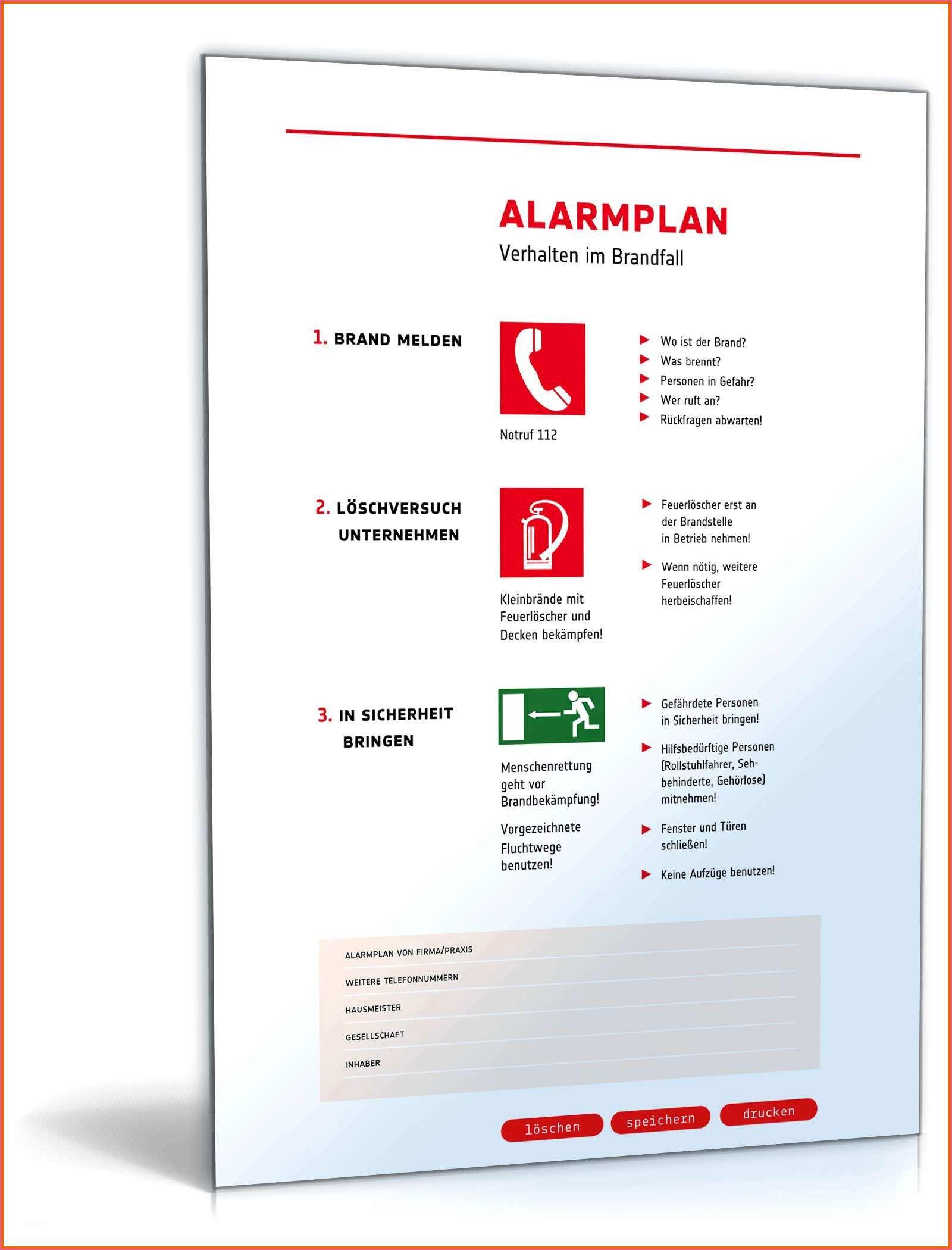 Nett Notfallplan Muster Kostenlos In 2020 Lebenslauf Muster Notfallplan Planer