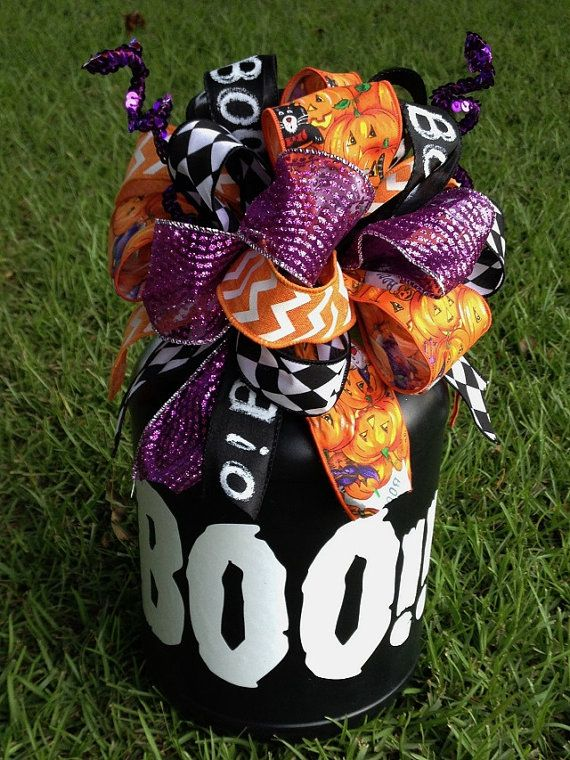 Halloween Candy Plastic Trick or Treat Container by