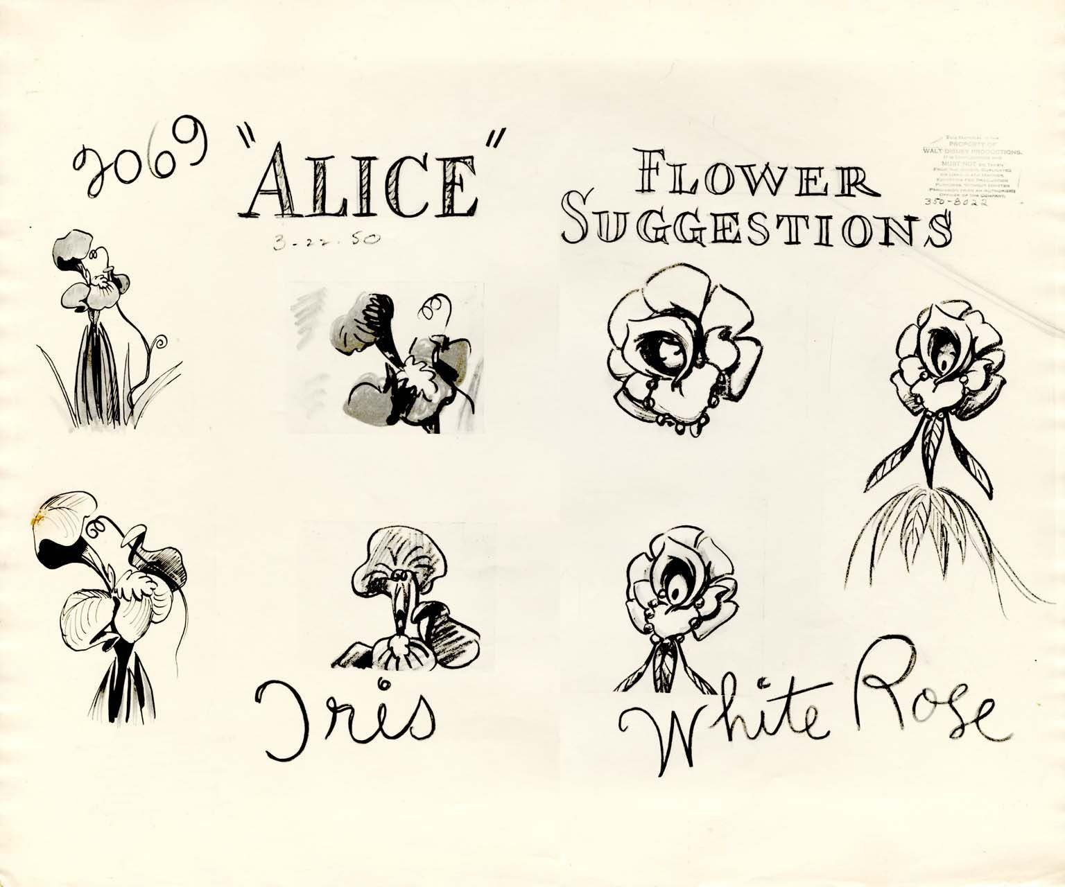 More flowers from march 22 1950 in this iris and white rose model more flowers from march 22 1950 in this iris and white rose model sheet there must have been a reason all these flowers were submitted on izmirmasajfo