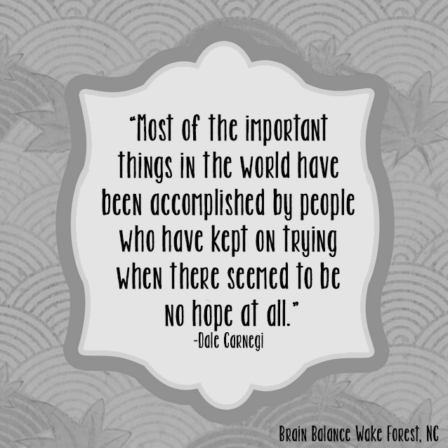 """Most of the important things in the world have been accomplished by people who have kept on trying when there seemed to be no #hope at all."" - Dale Carnegi"
