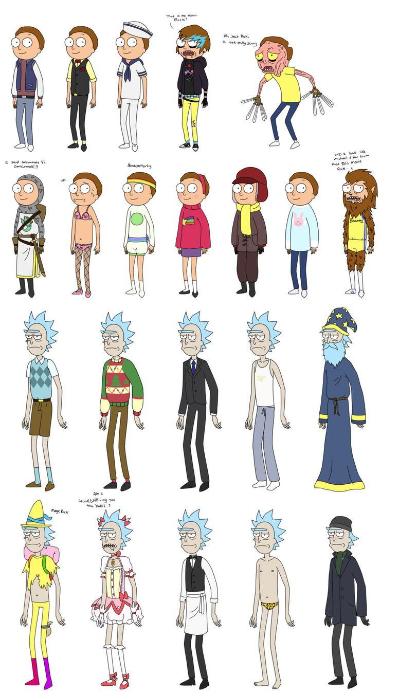 Обои очки, Smith, Morty Smith, Morty, Рик и Морти, Sanchez, rick, костюмы, Мультфильм, Rick and Morty, Rick Sanchez. Фильмы foto 7