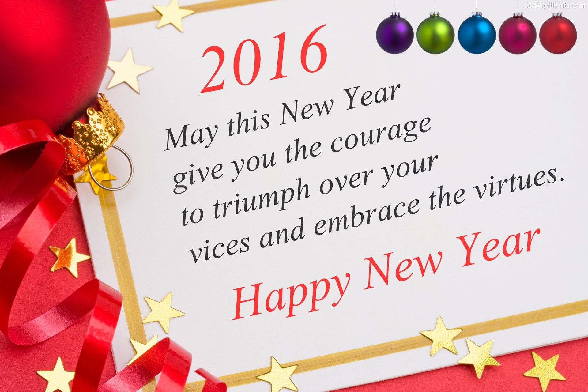 45 Beautiful Happy New Year Wallpapers Hd Year 2016 Quotes Images