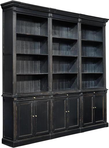 Large New Bookcase 3 Unit Deluxe Display Cabinet Glossy