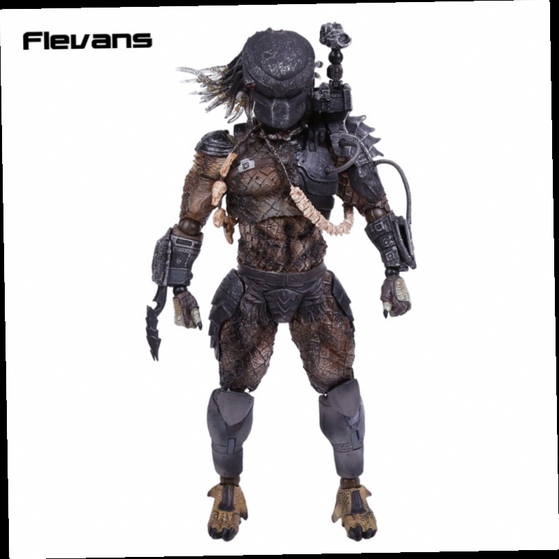 49.55$  Watch now - http://alijc1.worldwells.pw/go.php?t=32748461306 - Play Arts KAI Alien vs Predator P1 PVC Action Figure Collectible Model Toy