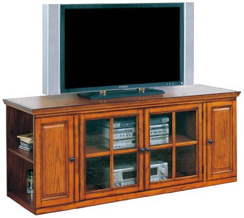 Leick Riley Holliday Tv Stand 62 Inch Burnished Oak Http Www
