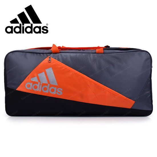 10ed84b9d0 adidas WUCHT P5 Badminton Tournament Bag Orange Black Racket Equipment  BG230411  adidas  Backpacks