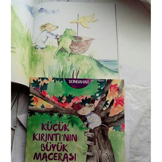 Sonbahar --Küçük Kırıntının büyük macerası #aysunberktayozmen #mevsimler #altınkitaplar #çocukkitabısevenler #animalstory #childrenbooks #picturebook #illustrasyon #natıre #doğa #resimlikitap #macera