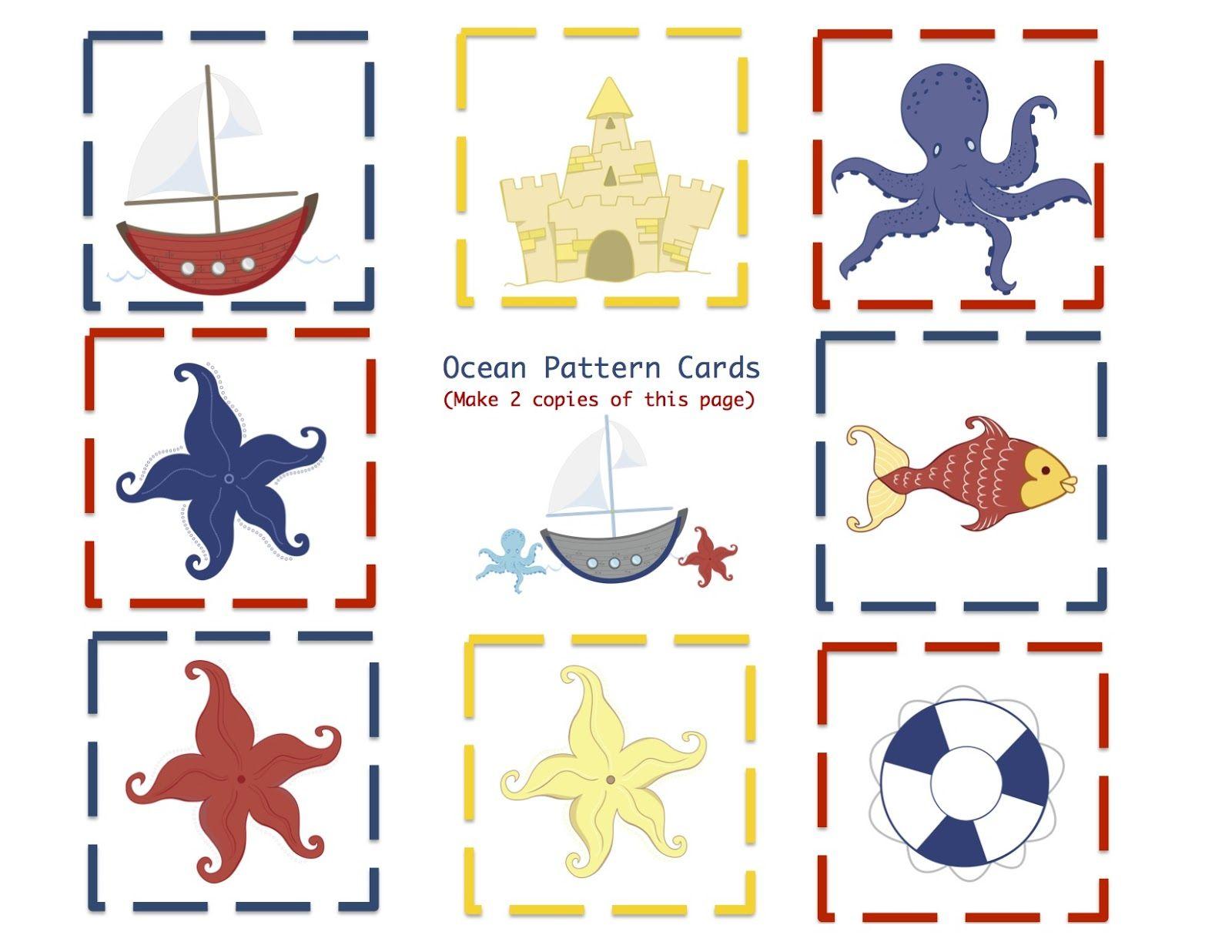 Preschool Printables Ocean
