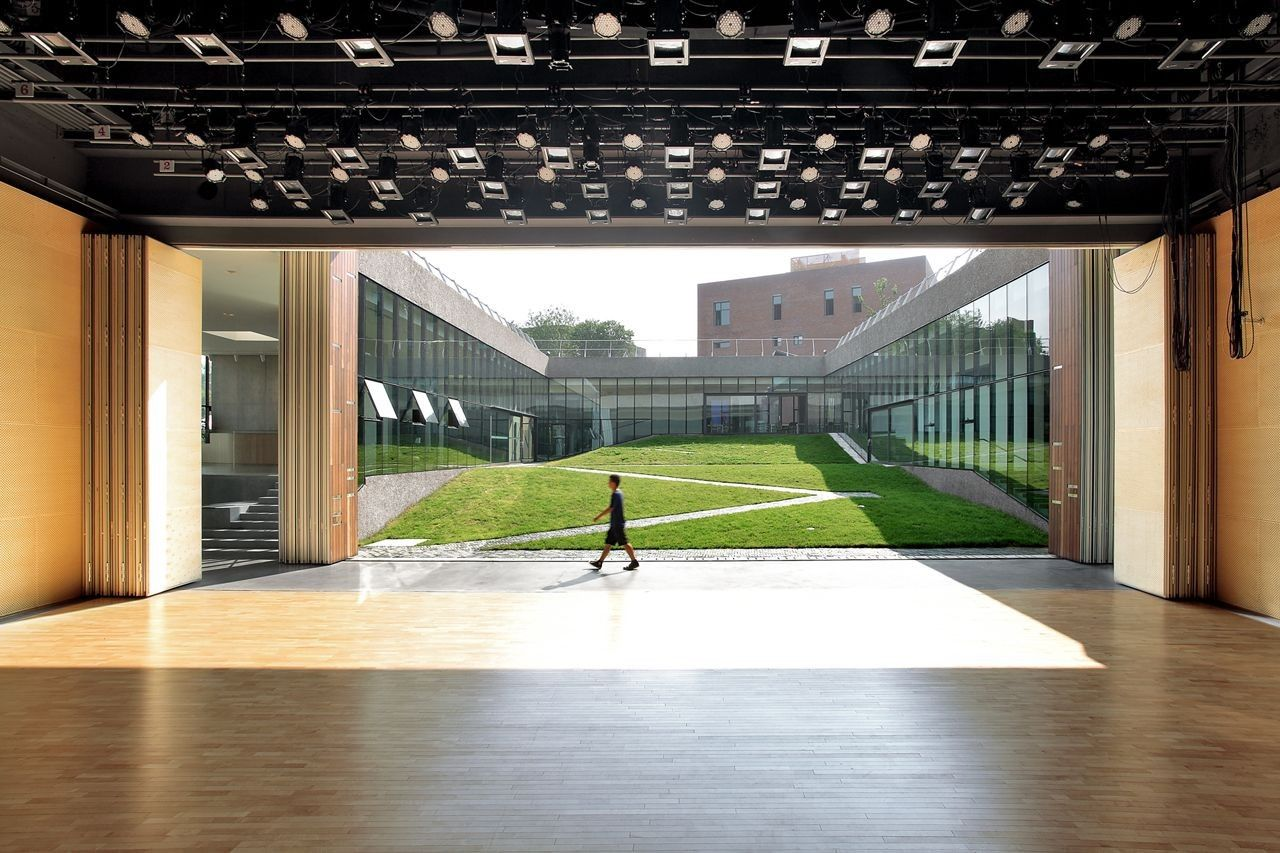 Gallery of Gehua Youth and Cultural Center / Open