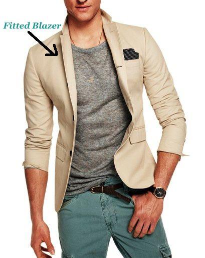 fitted blazer men - Google Search | Chweebus Wardrobe | Pinterest