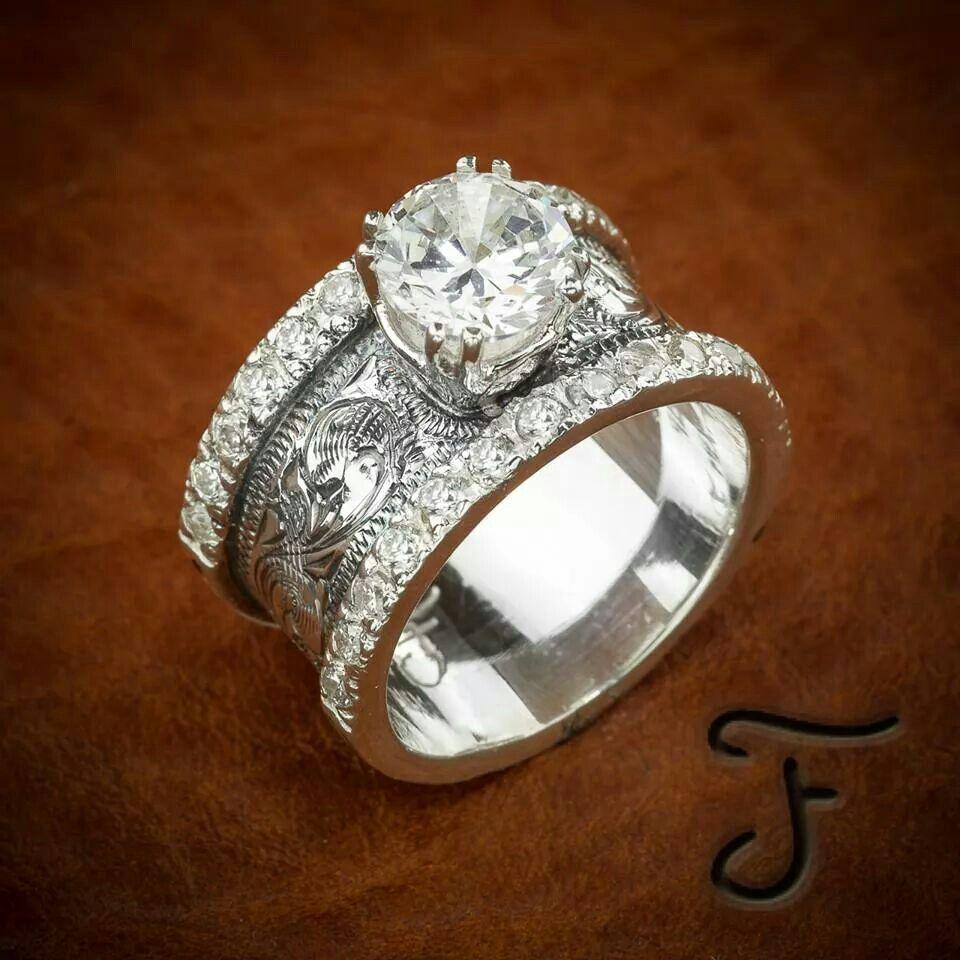 Western look Beautiful jewelry, Western rings, Jewelry