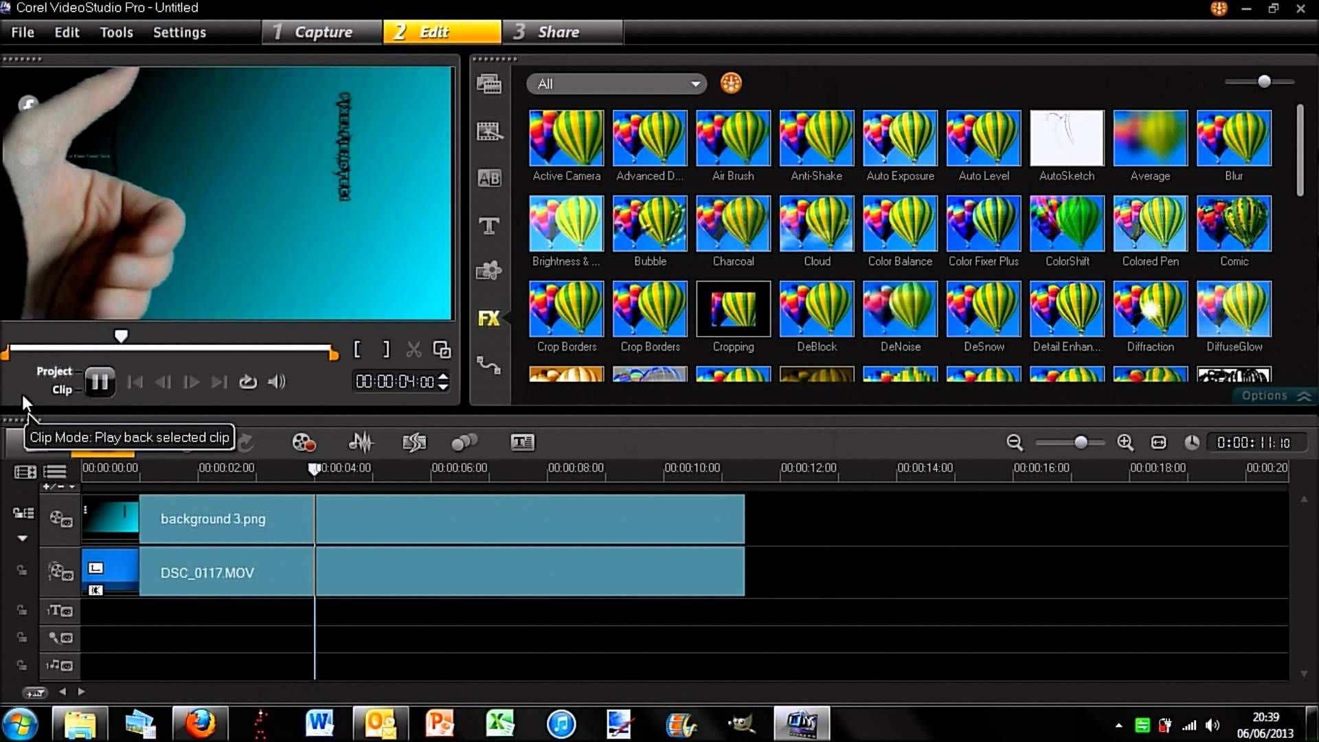 How to Apply Pan / Zoom to Videos in Corel VideoStudio Pro X7 ...