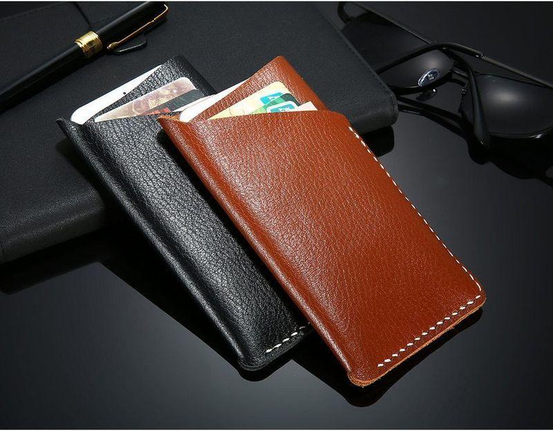 Adjustable Universal Wallets Genuine Leather Wallets Leather Wallet Case Wallet