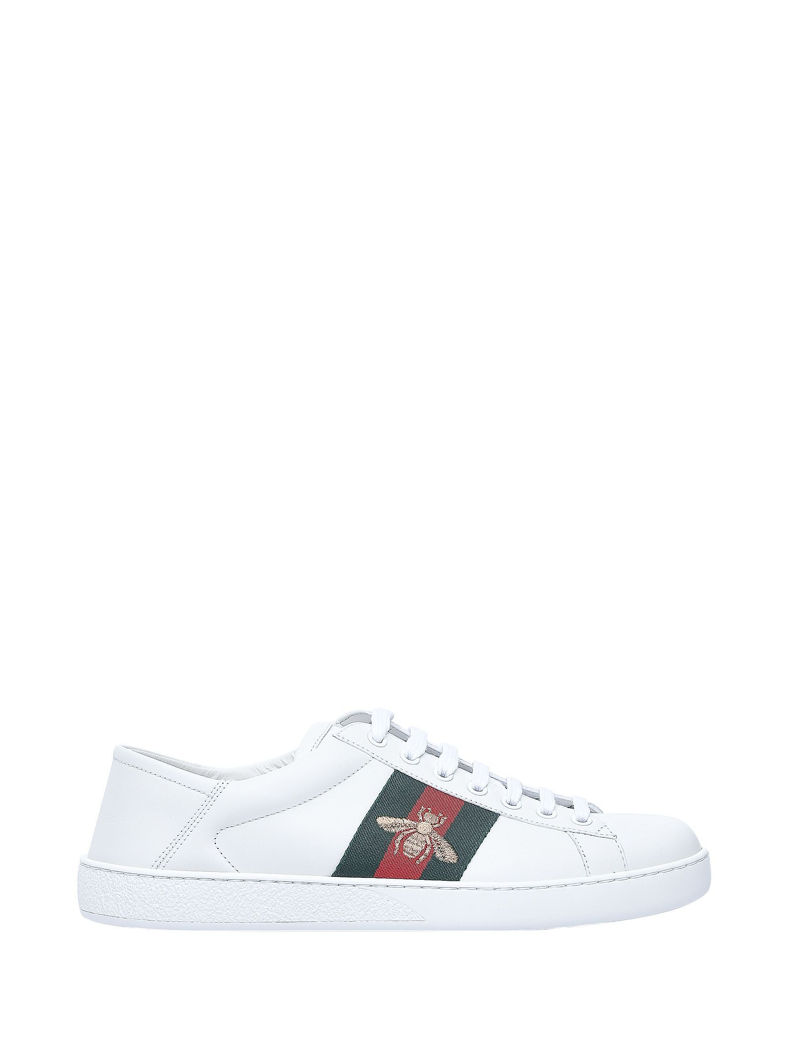 cee8874cfde GUCCI ACE WHITE MEN SNEAKERS.  gucci  shoes
