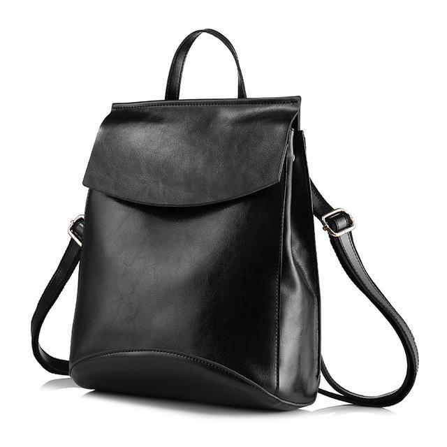 3abb599ecaa0 REALER brand fashion female schoolbag high quality cow split leather  backpacks for teenage girls multifunctional shoulder bags | Рюкзак в 2019 г.
