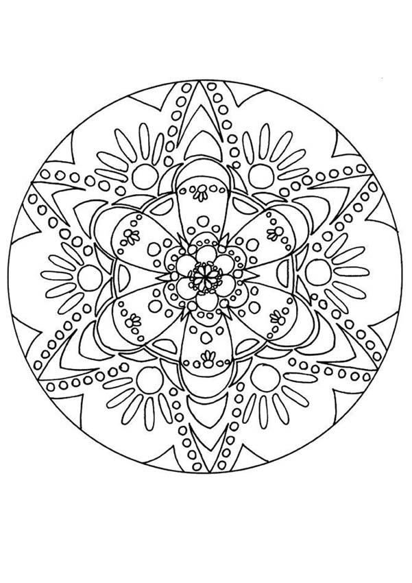Printable Mandala Coloring Pages Print Out And Color To Help