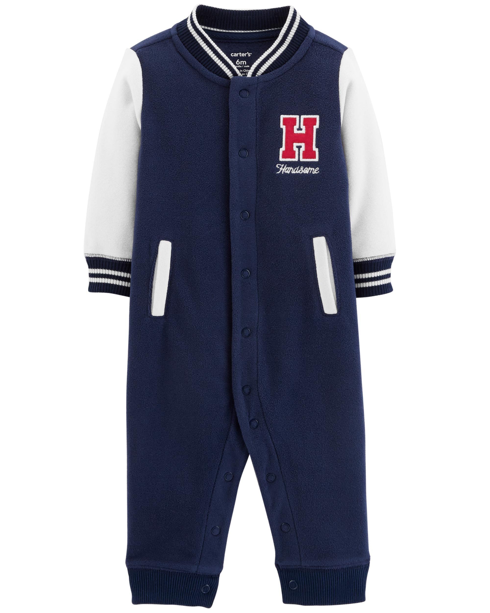 f48ee133a Handsome Fleece Jumpsuit