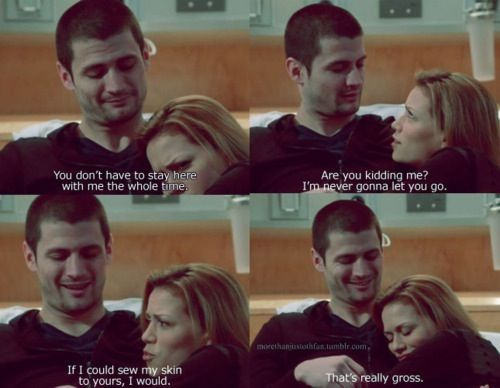 Aside from Lucas and Peyton, they were the best OTH couple.