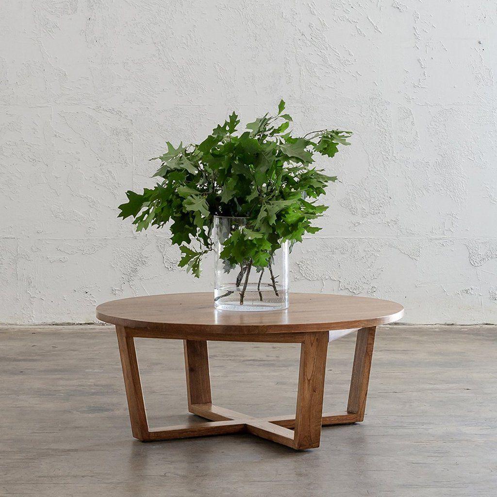 Amara Mid Century Timber Coffee Table Plain Top Round Mid Century Modern Coffee Table Mid Century Coffee Table Coffee Table [ 1024 x 1024 Pixel ]