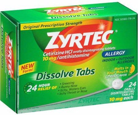 picture relating to Zyrtec Printable Coupon $10 named Zyrtec Allergy Reduction + Zyrtec-D Coupon +Ceremony Guidance Offer