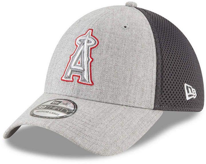 buy online 49935 5f527 ... switzerland new era los angeles angels heather pop neo 39thirty cap  sports fan shop by lids