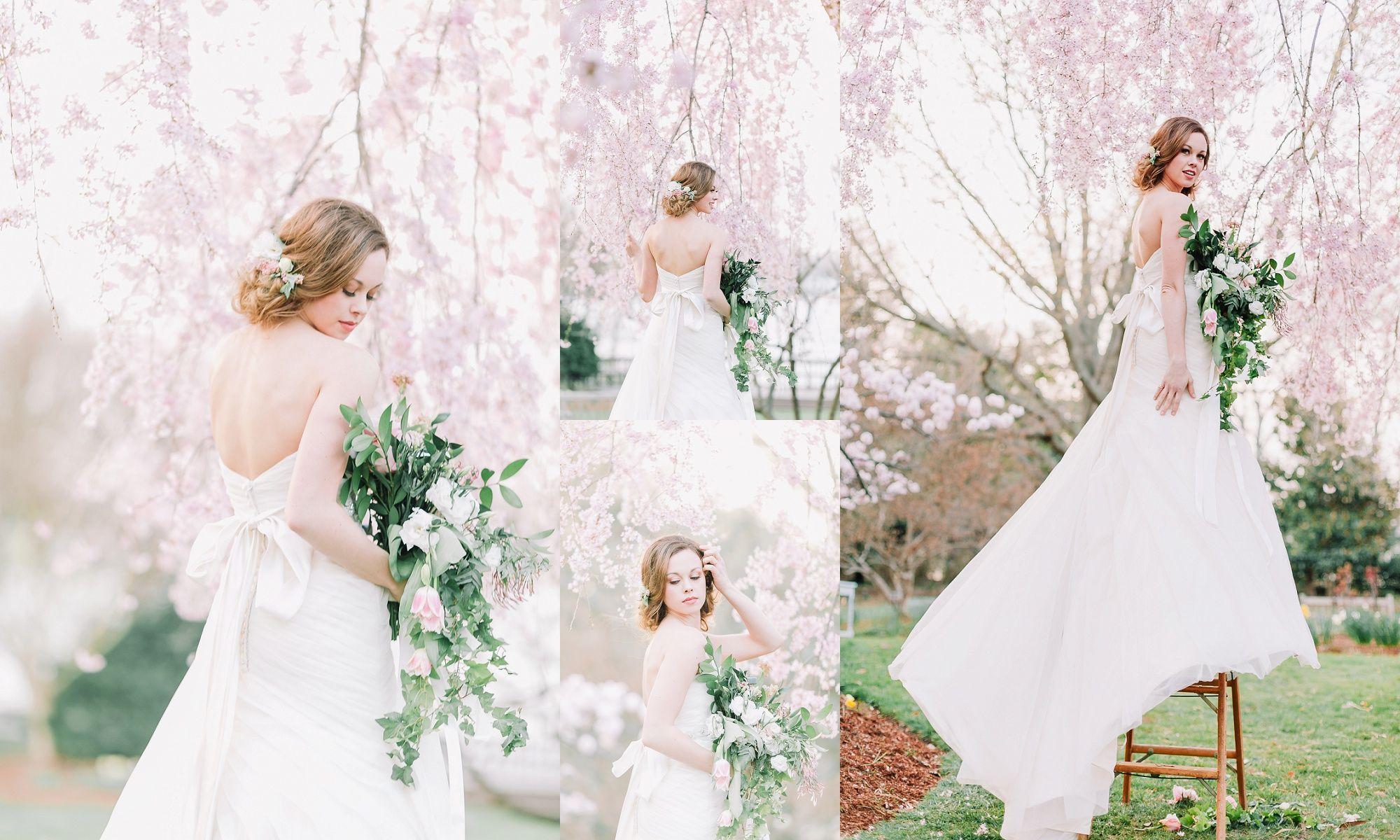 Wedding dresses downtown la  Cherry Blossom Wedding Angela Powell Woulfe Photographer  Angela