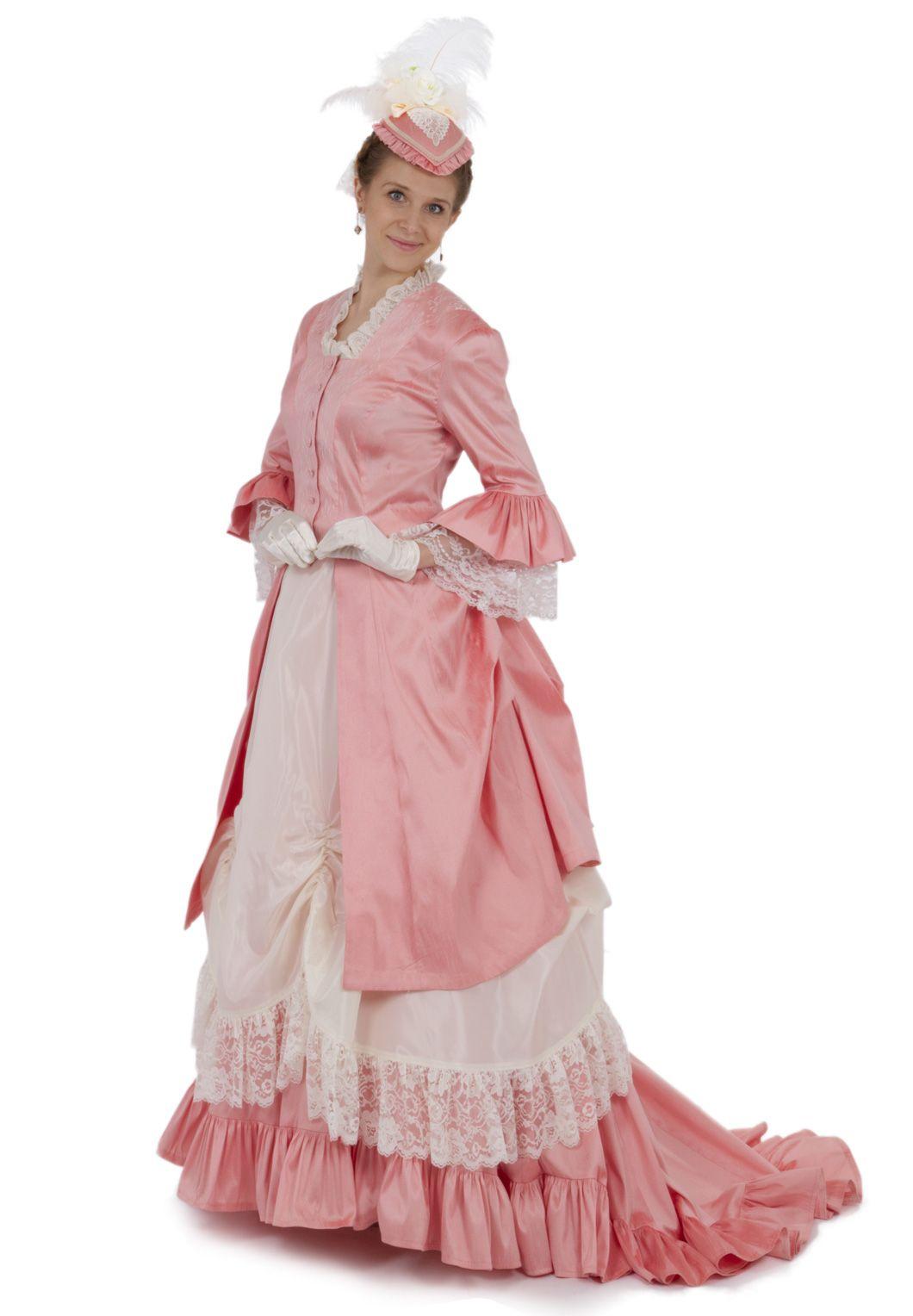 Perla Victorian Polonaise Bustle Dress #dressesfromthesouthernbelleera