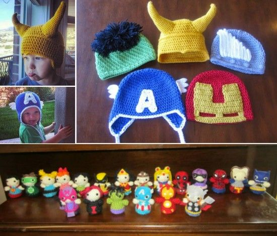 Superhero Crochet Patterns Free Tutorials All The Best Ideas | Häkeln