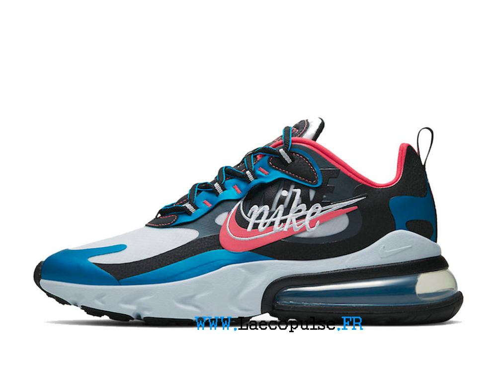 air max 270 react rose bleu