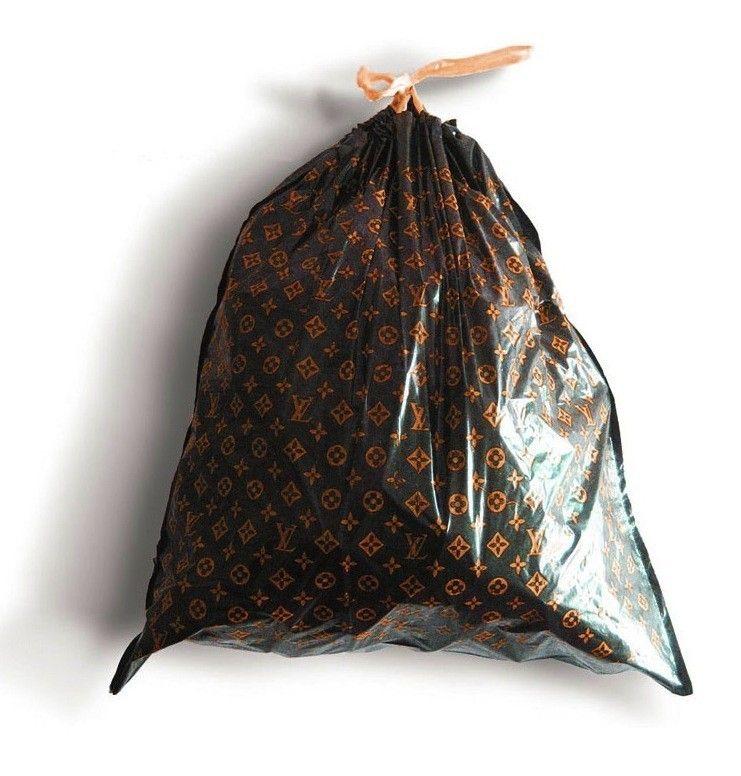 louis vuitton trash bags