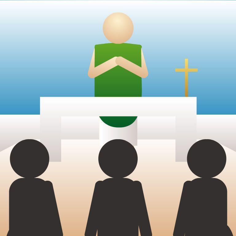 Oración De Los Fieles Oracion De Los Fieles Partes De La Misa Santisima Trinidad Para Niños