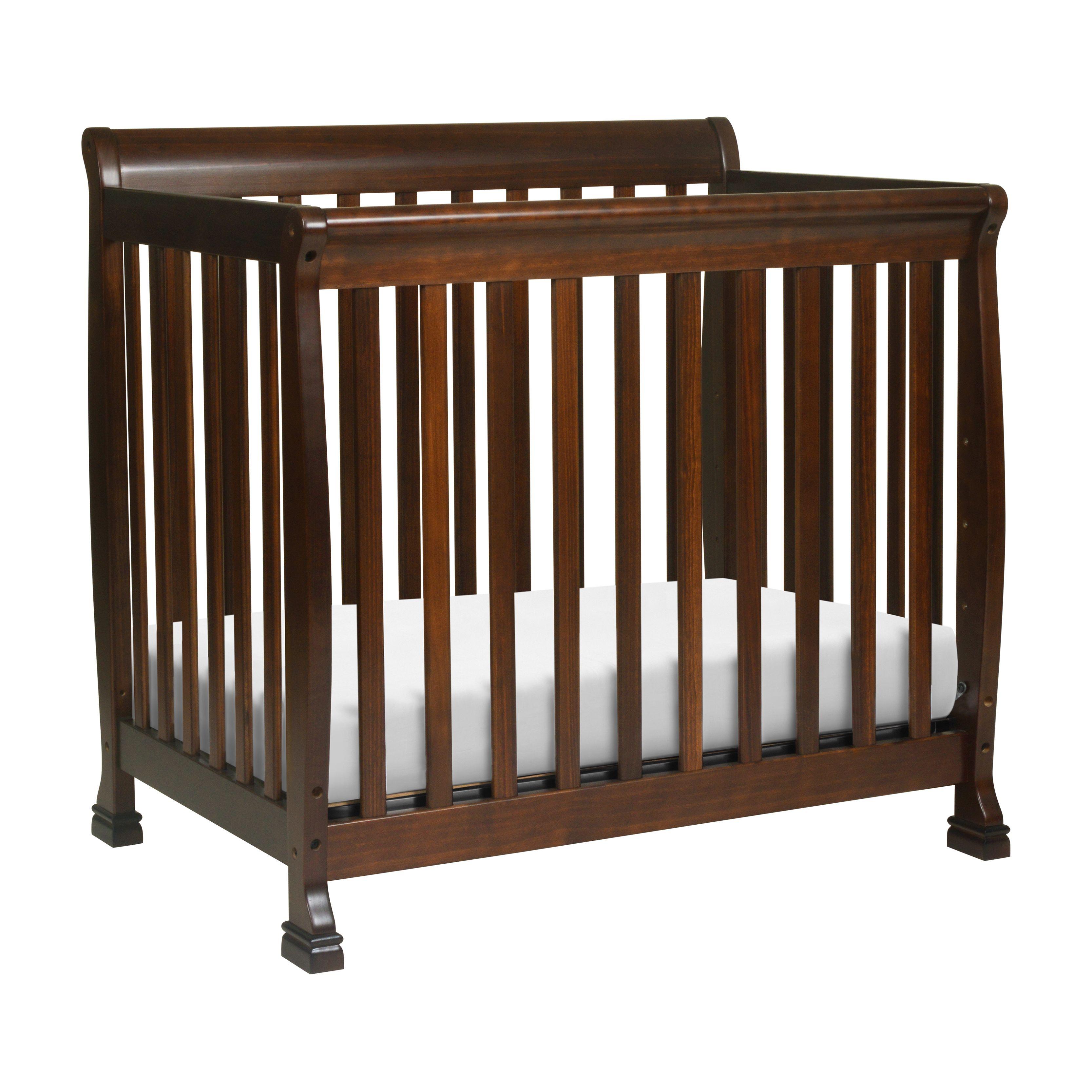 Davinci Kalani 4 In 1 Convertible Mini Crib Espresso Walmart Com In 2020 Mini Crib Cribs Mini Convertible