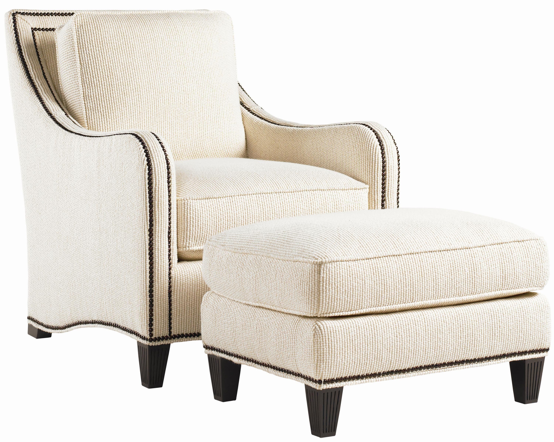 Royal Kahala Koko Chair & Ottoman Combination with ...