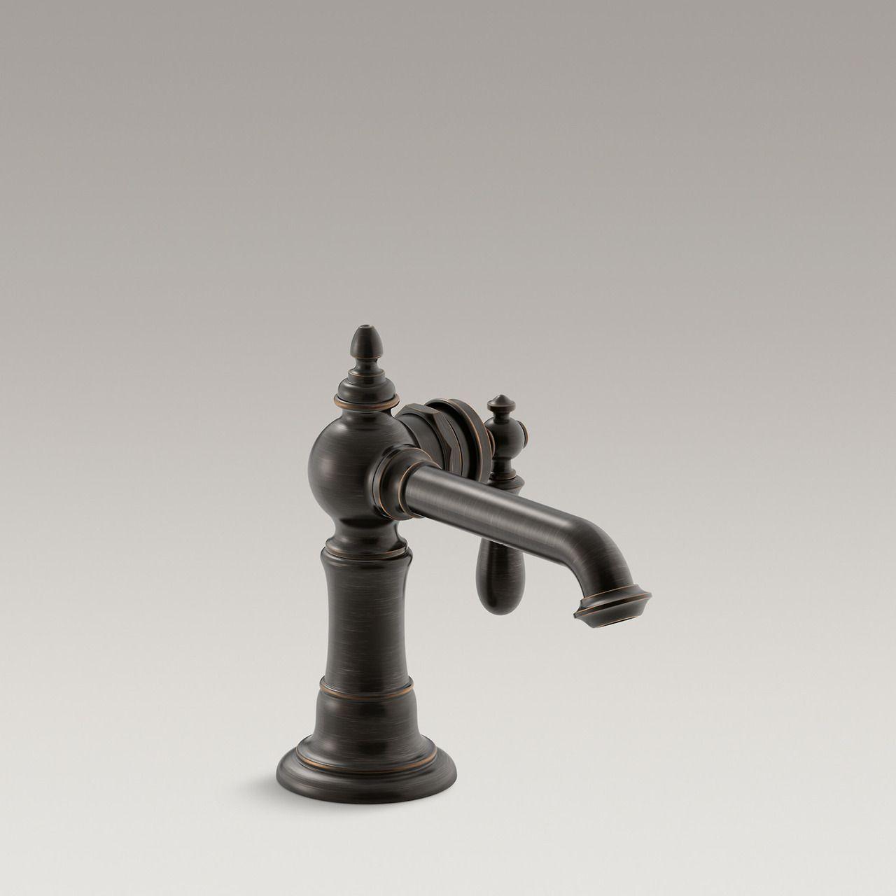 Artifacts Single-Handle Bathroom Sink Faucet