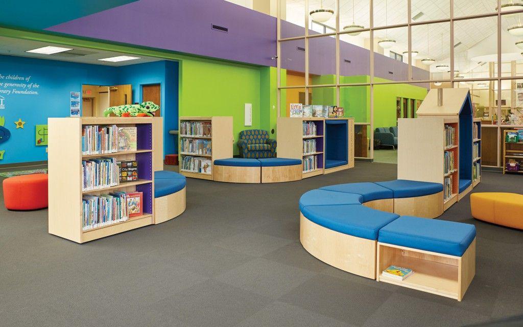 Take A Virtual Tour Of The Kenosha Public Library Where