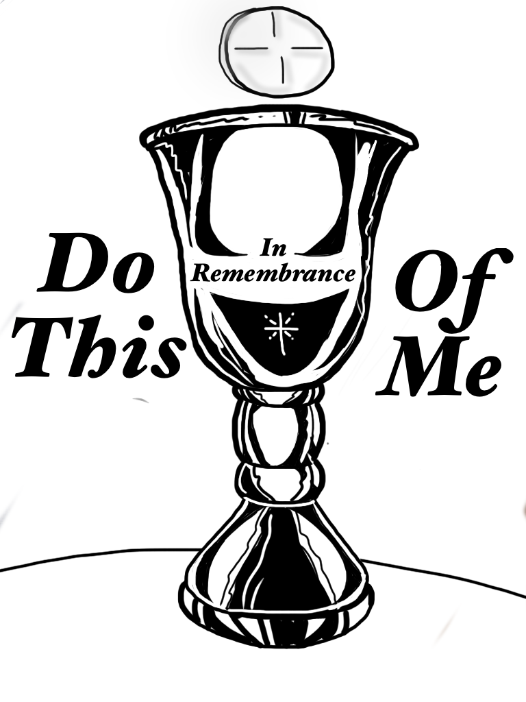 Communion / Lord\'s Supper Coloring Page | Children\'s Ministry Ideas ...