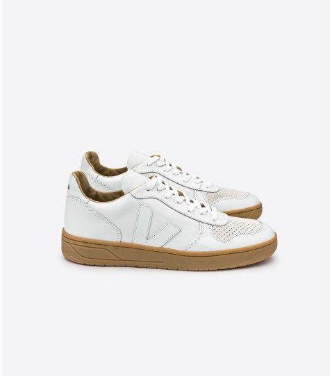 Basket Veja Vstore V 10, cuir tanné végétal | Chaussures