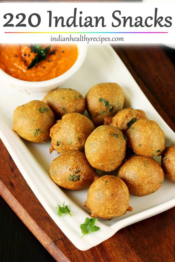 220 Indian Snacks Recipes images