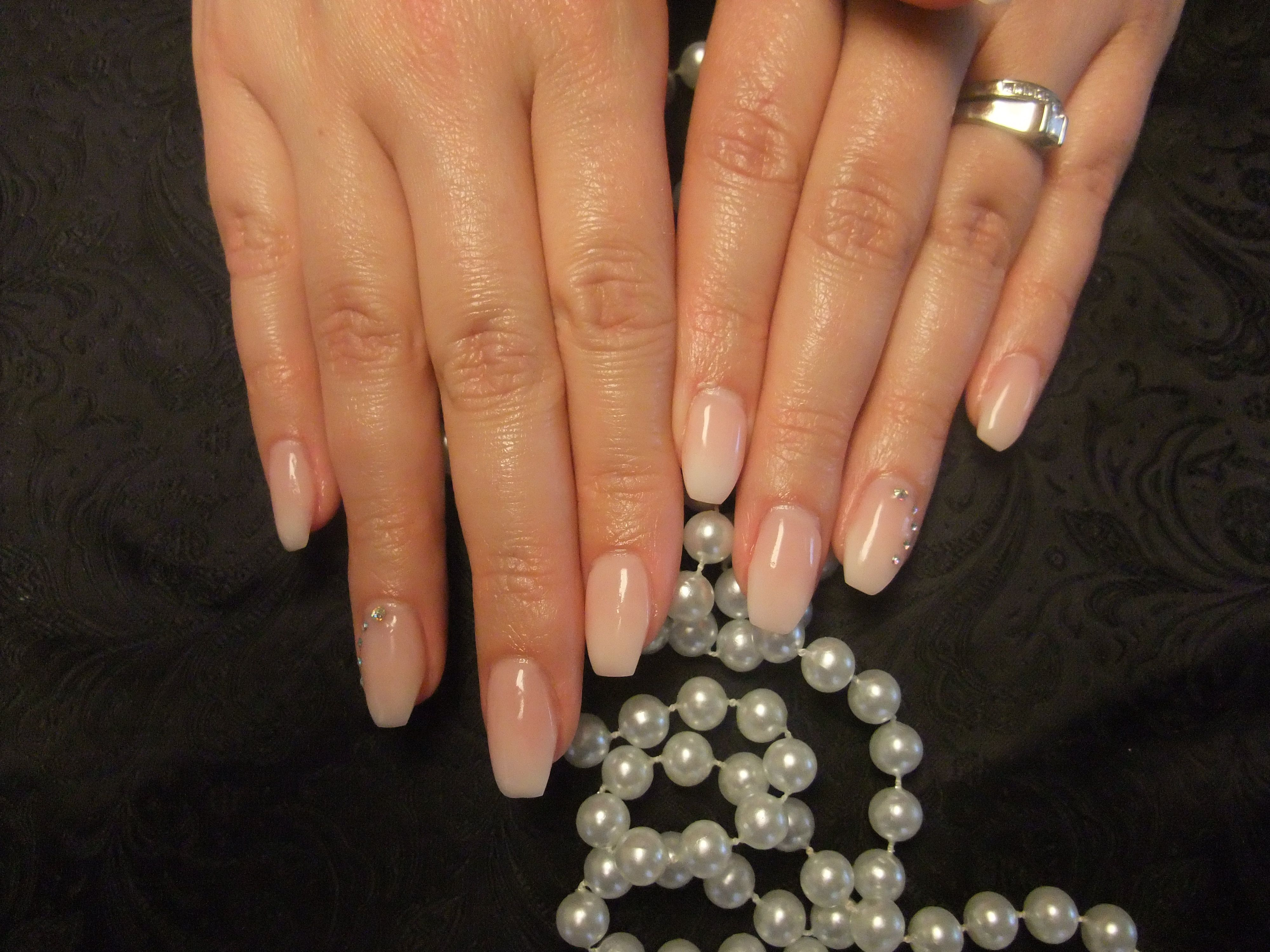 Gel Nails, Babyboomer nails | The Nail Fairy | Pinterest